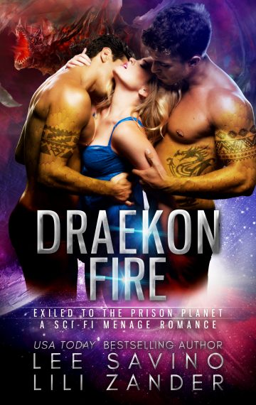 Draekon Fire (Dragons in Exile Book 2)