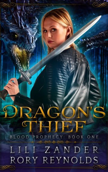 Dragon's Thief: A Reverse Harem Serial (Blood Prophecy Book 1)