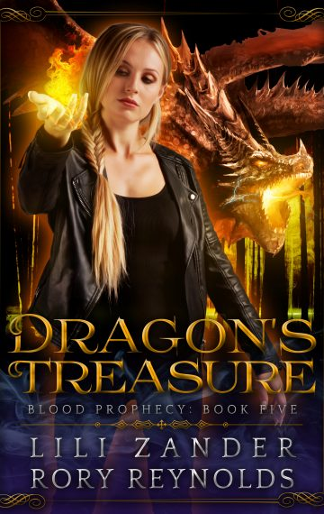 Dragon's Treasure: A Reverse Harem Serial (Blood Prophecy Book 5)